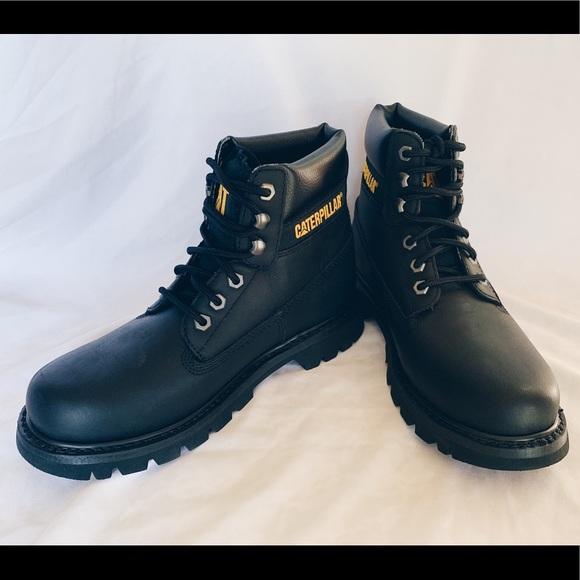 Mens Black Caterpillar Boots